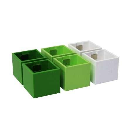Kalamitica Pots - Set of 6 Green Tones