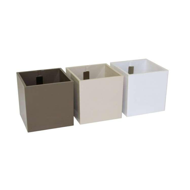 Kalamitica Pots - Set of 3 Brown Tones