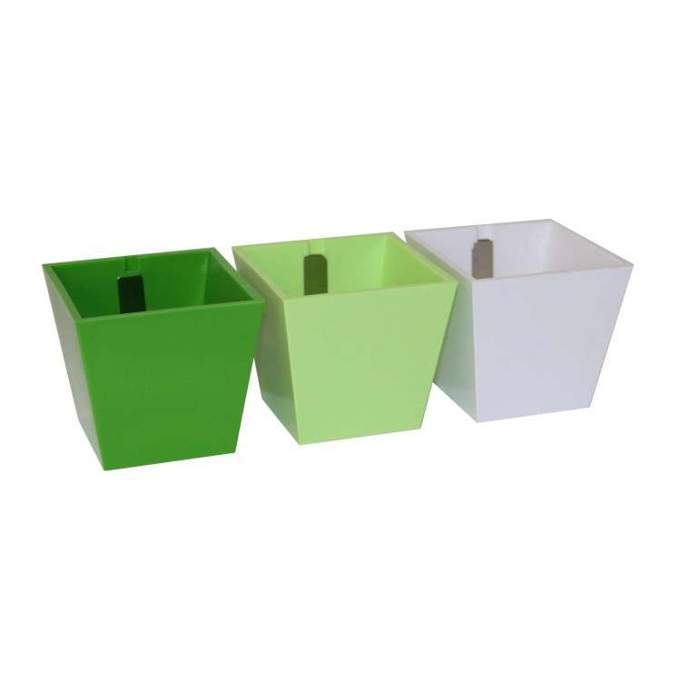 Kalamitica - Set of 3 Cubes Green