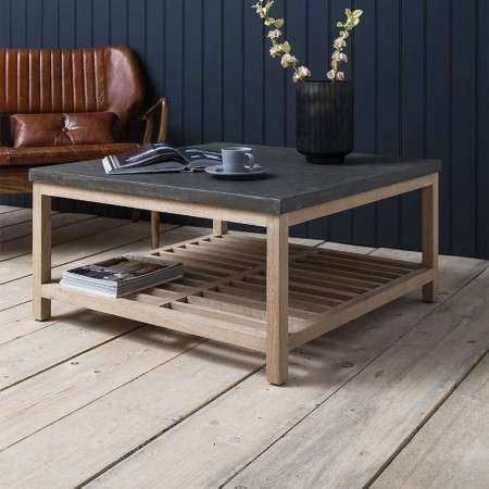 Brooklyn Contemporary Square Coffee Table from Accessories for the Home