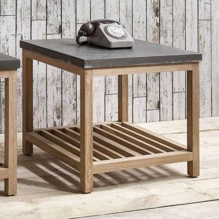 Brooklyn Contemporary Large Side Table from Accessories for the Home