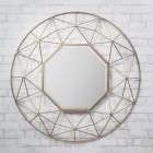 Adra Geometric Mirror from Accessories for the Home