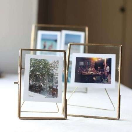 Danta Antique Brass Photo Frame from Accessories for the Home