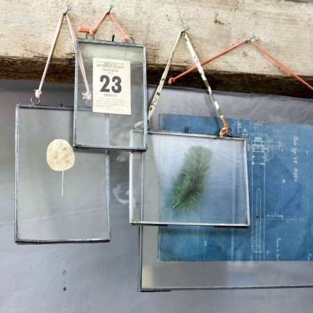 Kiko Zinc Glass Frame from Accessories for the Home