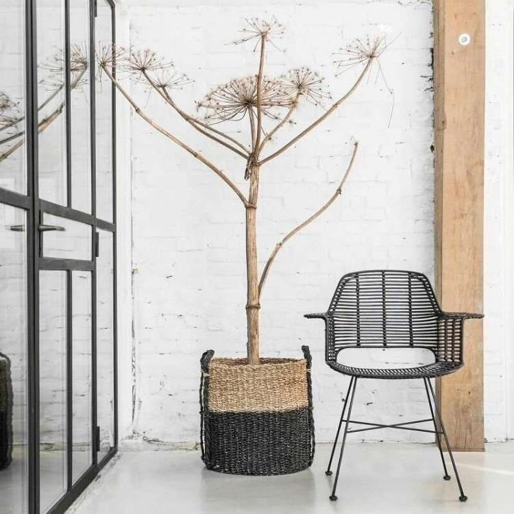 Rattan Tub Chair Black from Accessories for the Home