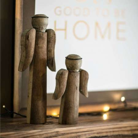 Wooden Angels from Accessories for the Home
