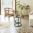 Mirrored & Iron Side Table from Accessories for the Home