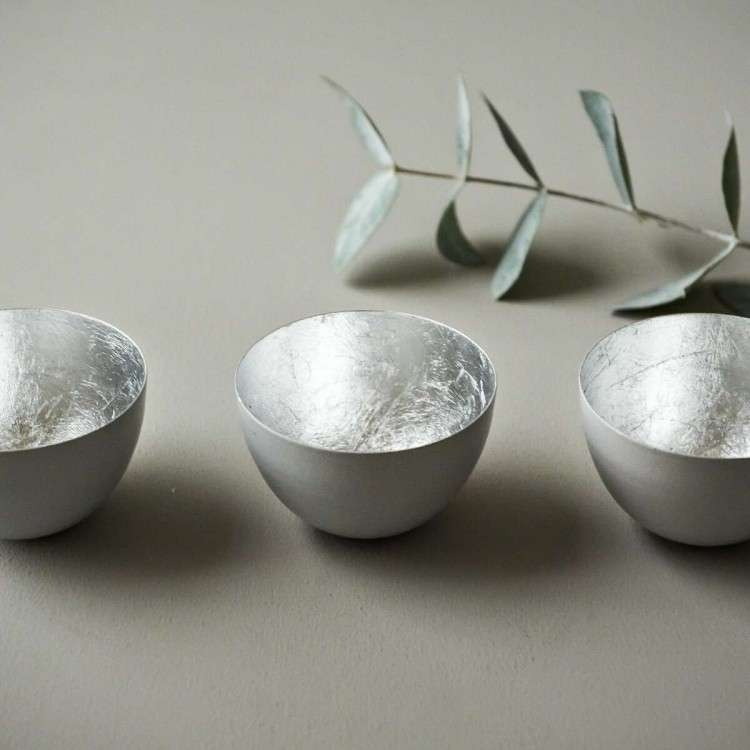 Grey Bowls Set of 3 from Accessories for the Home