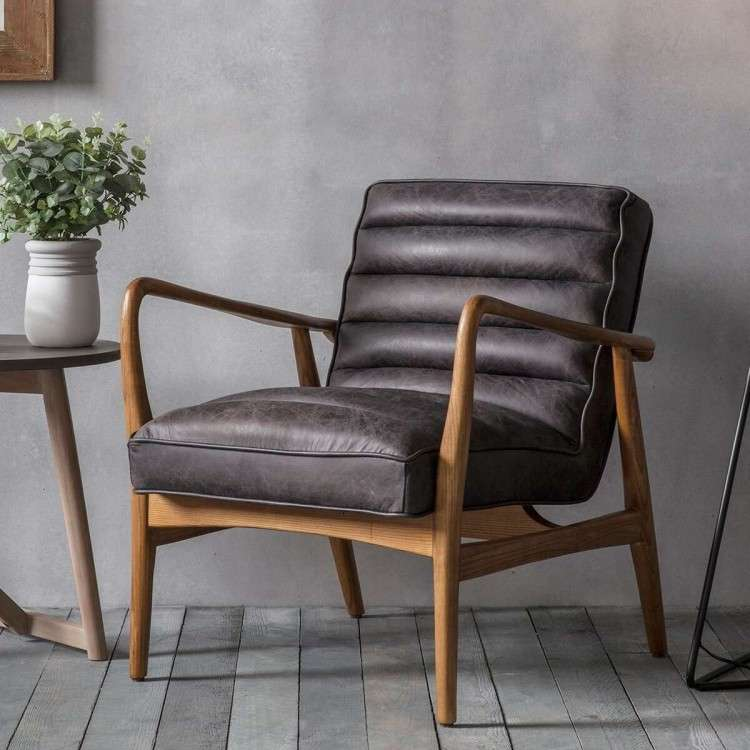 Dayton Ebony Armchair from Accessories for the Home