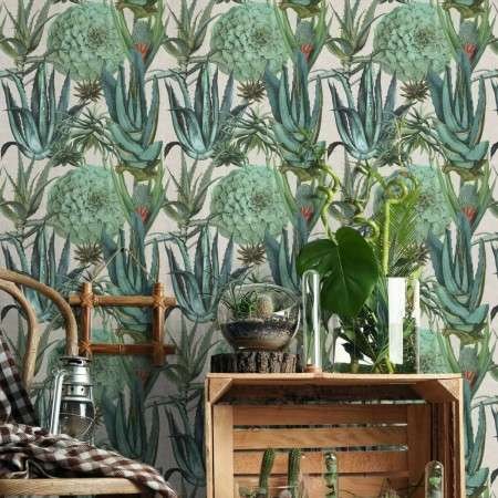 Succulentus Wallpaper from Accessories for the Home