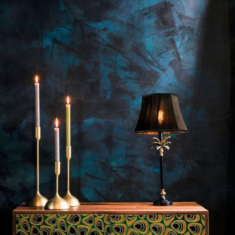 Dutchbone Cresta Gold and Black Table Lamp from Accessories for the Home