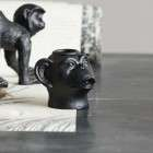 Pavla Monkey Head Candle Holder from Accessories for the Home