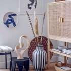 Bloomingville Sanna Rattan and Pine Cabinet from Accessories for the Home