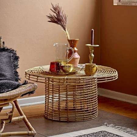 Bloomingville Abena Rattan Coffee Table from Accessories for the Home