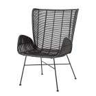 Bloomingville Erika Rattan Lounge Chair from Accessories for the Home