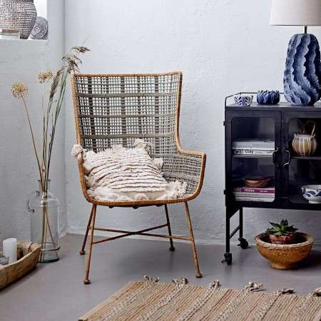 Bloomingville Luan Rattan Lounge Chair from Accessories for the Home