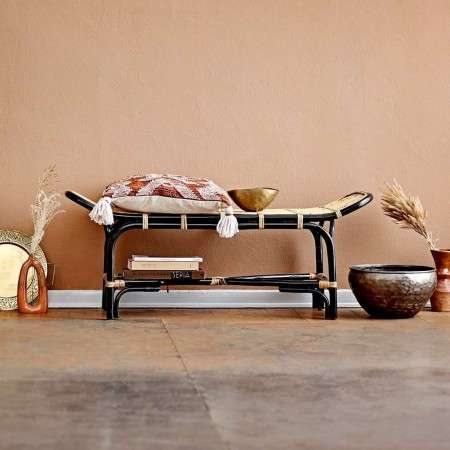 Bloomingville Loue Rattan Bench Seat from Accessories for the Home