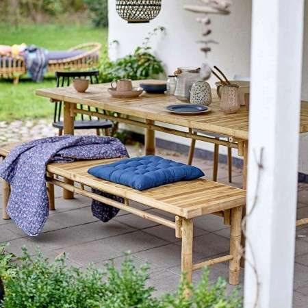 Bloomingville Sole Bamboo Bench Seat from Accessories for the Home