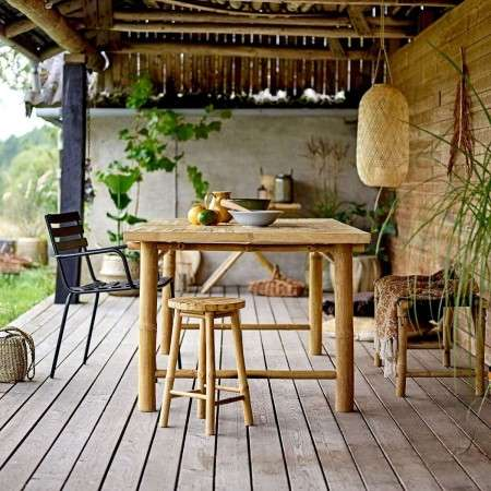 Sole Natural Bamboo Dining Table from Accessories for the Home