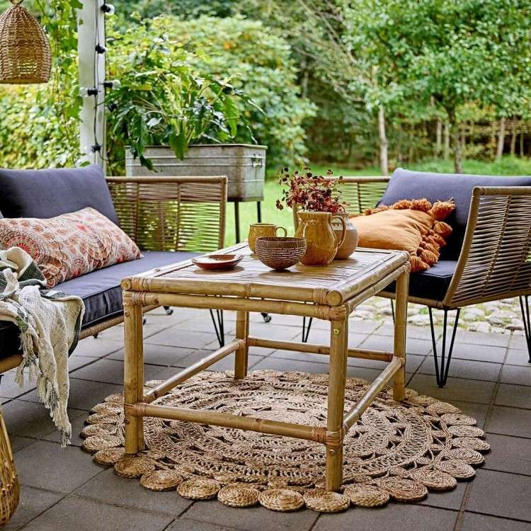 Bloomingville Sole Bamboo Coffee Table from Accessories for the Home