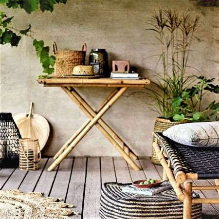 Sole Natural Bamboo Side Table from Accessories for the Home