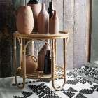 Madam Stoltz Small Bamboo Side Table from Accessories for the Home