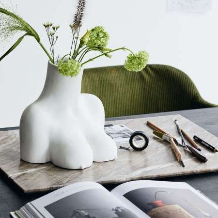Nordal AVAJI Upper Body Vase from Accessories for the Home