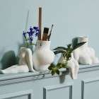 Nordal AVAJI Sitting Lower Body Ceramic Vase from Accessories for the Home