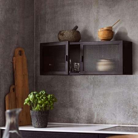 Muubs Dallas Wall Cabinet Black from Accessories for the Home