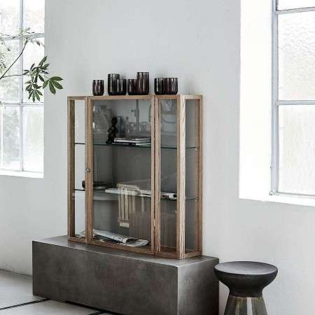 House Doctor Sena Natural Ash Wall Cabinet from Accessories for the Home