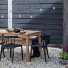 Jisse Natural Teak Garden Table from Accessories for the Home