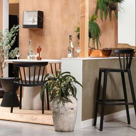 Bliss Set of Two Outdoor Bar Stools