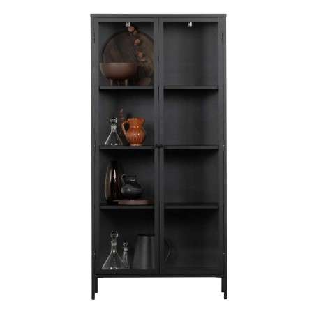 Precious Black Metal Display Cabinet from Accessories for the Home