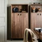Bookazine Walnut Finish Bookcase from Accessories For The Home