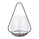 Keeto Black Iron & Glass T-Light Holder from Accessories for the Home