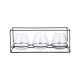 Keeto Black Iron & Glass T-Light Set from Accessories for the Home