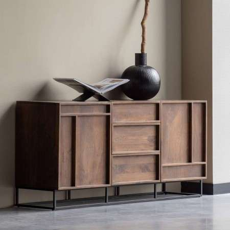 Forrest Mango Wood Sideboard With Drawers from Accessories for the Home