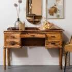 Boudoir Natural Wood Dressing Table from Accessories for the Home