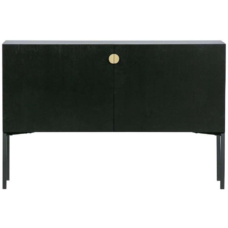 Hero Black Wood Storage Console from Accessories for the Home