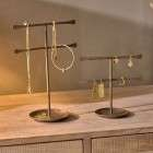 Liman Antique Brass Jewellery Stand from Accessories for the Home