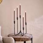 Mbata Antique Black Cluster Candelabra from Accessories for the Home