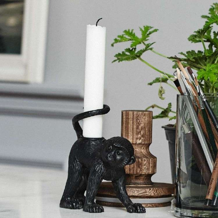 Palva Monkey Candleholder from Accessories for the Home