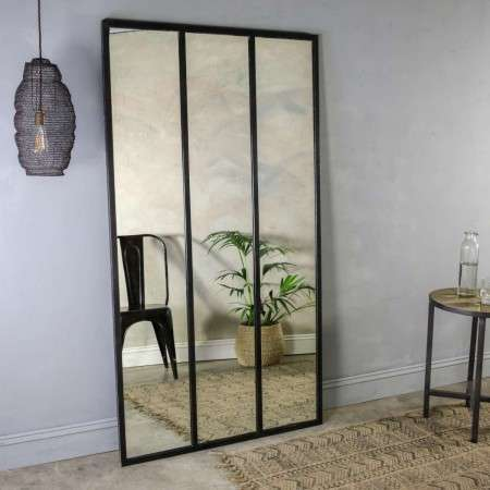 Murzu Full Length Iron Mirror