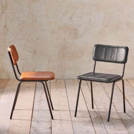 Ukari Leather Dining Chair from Accessories for the Home