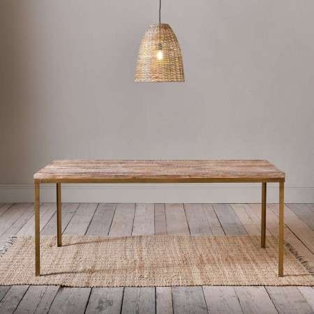 Danali Mango Wood Dining Table from Accessories for the Home