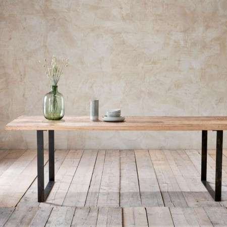 Fia Mango Wood Dining Table from Accessories for the Home