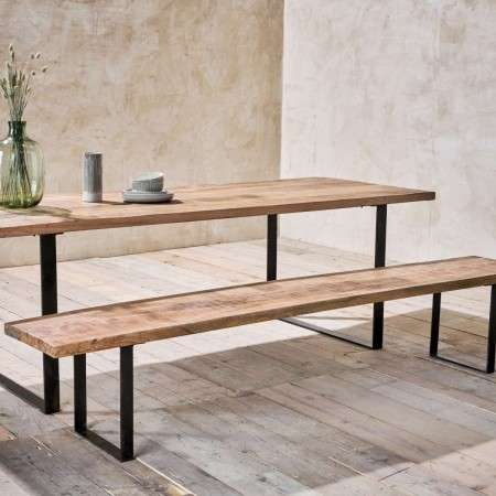 Fia Mango Wood Bench from Accessories for the Home