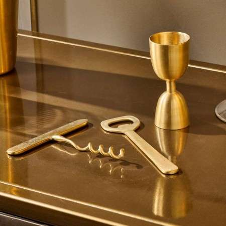 Rahuri Brass Cocktail Set from Accessories for the Home