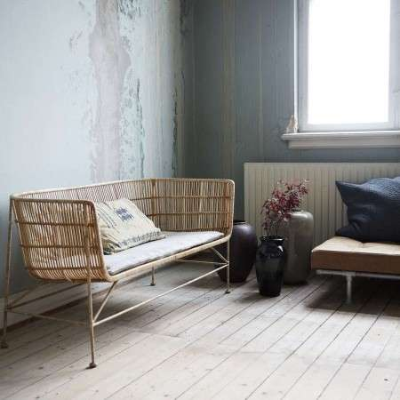 Cuun Natural Rattan Sofa from Accessories for the Home