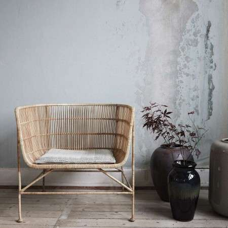 Cuun Natural Rattan Armchair from Accessories For The Home